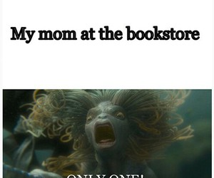 books, bookstore, and mom image