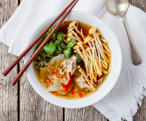 asian, cook, and dinner image