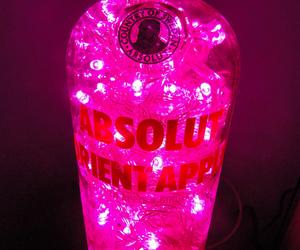 pink, vodka, and drink image