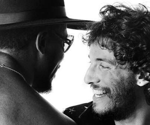 bruce springsteen, clarence clemons, and the e street band image