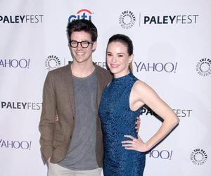 the flash, grant gustin, and danielle panabaker image