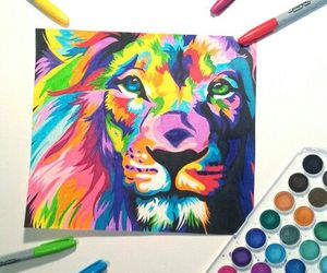 art, colorful, and disegni image