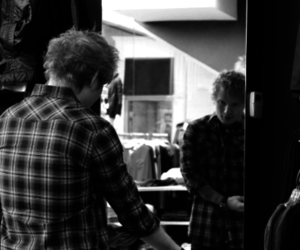black and white, music, and sad image