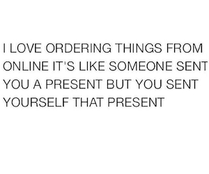 gift, present, and this feeling image