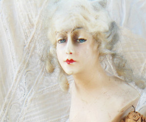 antique, doll, and rococo image