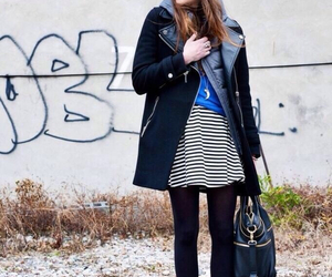 black, coordinate, and fashion image