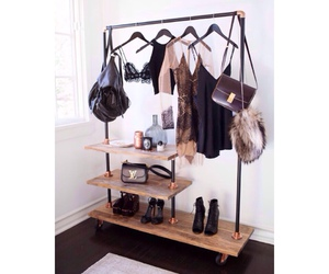 bag, clothes, and shoes image