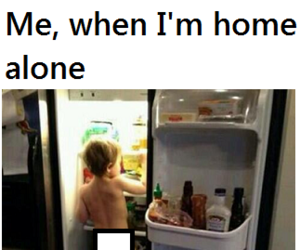 alone, home, and me image