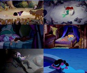 disney, princess, and cry image