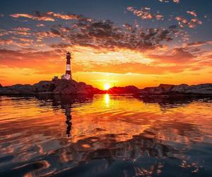 lighthouse, orange, and Santa Cruz image