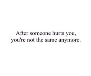 different, same, and hurt image