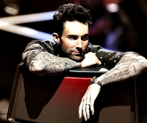 adam levine, maroon 5, and the voice image