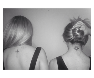 back, black&white, and blondes image