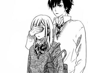 couple, kawaii, and manga image