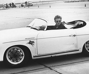 car, james dean, and vintage image