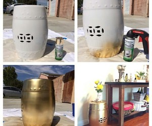 spray paint and gold spray paint image