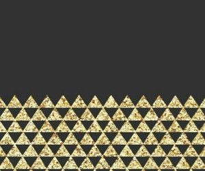 black, gold, and wallpaper image