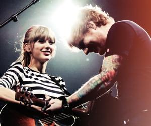 ed sheeran, Taylor Swift, and music image
