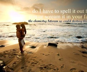 beatch, sea, and love image