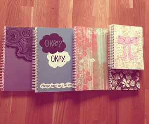 notebooks and school image