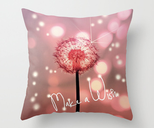 pillow, dandelion, and lights image