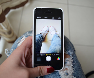 converse, iphone, and cool image