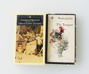 books, charles dickens, and great expectations image