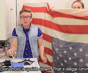 tyler oakley, funny, and mamrie hart image