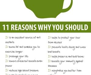green tea, tea, and healthy image