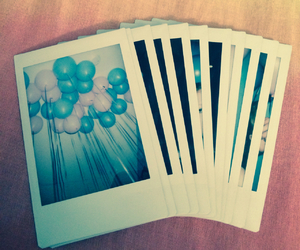 balloons, inspired, and pink and blue image