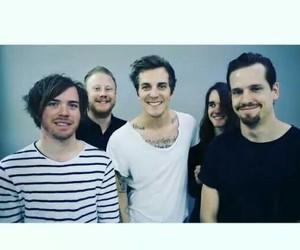 band, blue, and pat image