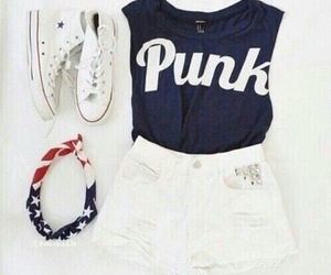 fashion, punk, and outfit image