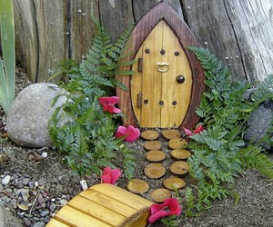 fairy and garden image