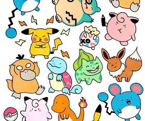 pokemon, wallpaper, and pikachu image