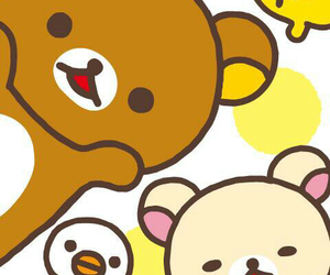bear, rilakkuma, and kawaii image