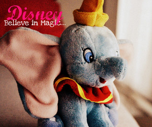 believe, disney, and dumbo image