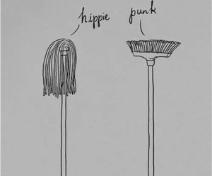 funny, hippie, and punk image