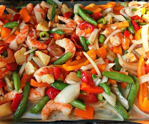 healthy, yummy, and shrimp image