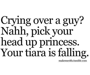 princess, quotes, and tiara image