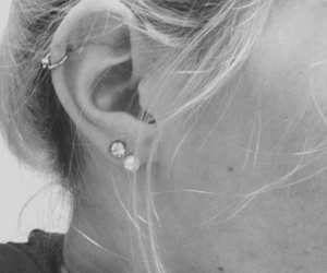 ear, helix, and piercing image