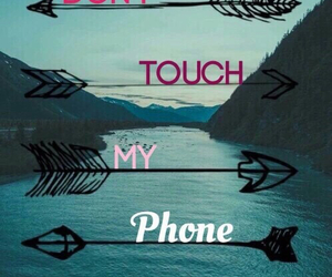 phone, wallpaper, and touch image