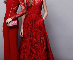 fashion, elie saab, and red image