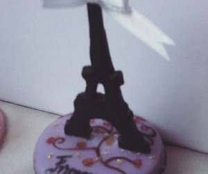 birthday, eiffel, and macarron image