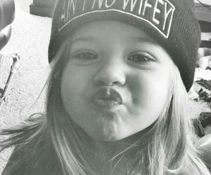 girl, cute, and kiss image