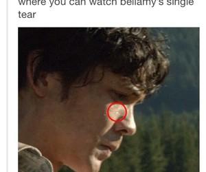 OMG, bellarke, and tears image
