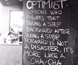optimist, quote, and life image