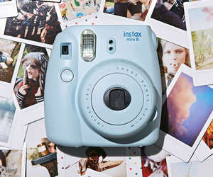 camera, instax, and photograph image
