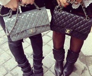 bag, chanel, and purse image