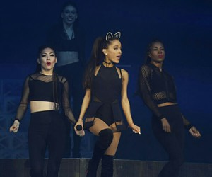 ariana grande, ariana, and honeymoon tour image
