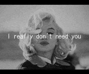 quotes, you, and Marilyn Monroe image